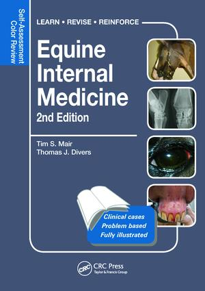 Equine Internal Medicine: Self-Assessment Color Review Second Edition, 2nd Edition (Paperback) book cover