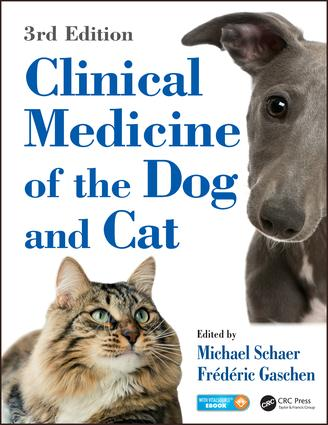 Clinical Medicine of the Dog and Cat: 3rd Edition (Hardback) book cover