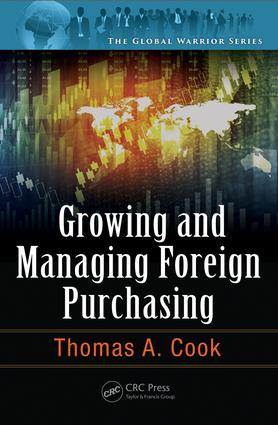 Growing and Managing Foreign Purchasing: 1st Edition (Hardback) book cover