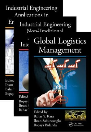 Industrial Engineering: Management, Tools, and Applications, Three Volume Set, 1st Edition (Hardback) book cover