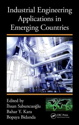 Industrial Engineering Applications in Emerging Countries: 1st Edition (Hardback) book cover