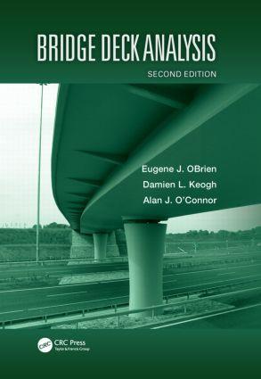Bridge Deck Analysis: 2nd Edition (Hardback) book cover