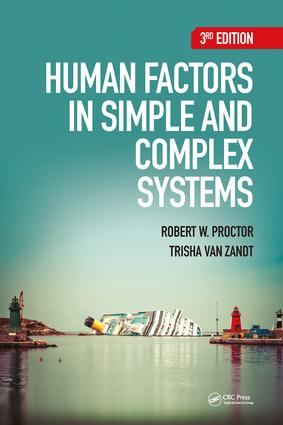Human Factors in Simple and Complex Systems, Third Edition book cover