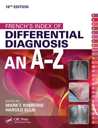 French's Index of Differential Diagnosis An A-Z 16th Edition: 16th Edition (Paperback) book cover