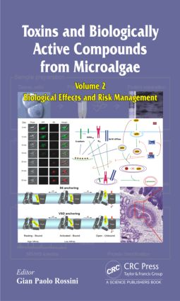 Toxins and Biologically Active Compounds from Microalgae, Volume 2: Biological Effects and Risk Management, 1st Edition (Hardback) book cover