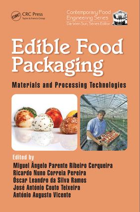 Edible Food Packaging: Materials and Processing Technologies, 1st Edition (Hardback) book cover