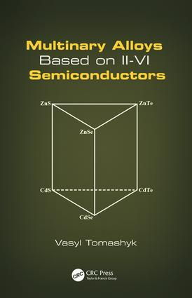 Multinary Alloys Based on II-VI Semiconductors: 1st Edition (Paperback) book cover
