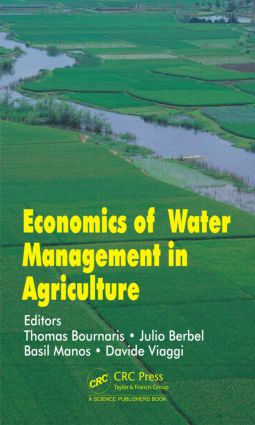 Economics of Water Management in Agriculture: 1st Edition (Hardback) book cover