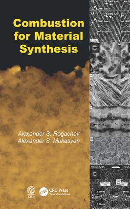 Combustion for Material Synthesis: 1st Edition (Hardback) book cover
