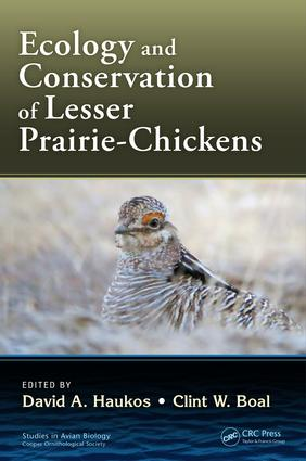 Ecology and Conservation of Lesser Prairie-Chickens: 1st Edition (Hardback) book cover