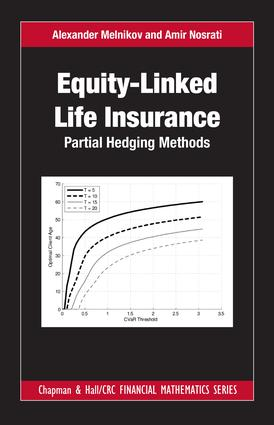 Equity-Linked Life Insurance: Partial Hedging Methods, 1st Edition (Hardback) book cover