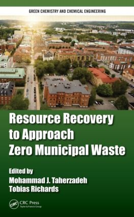 Resource Recovery to Approach Zero Municipal Waste book cover
