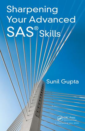 Sharpening Your Advanced SAS Skills: 1st Edition (Paperback) book cover