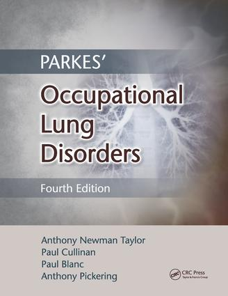 Parkes' Occupational Lung Disorders: 4th Edition (e-Book) book cover