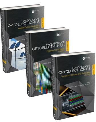 Handbook of Optoelectronics, Second Edition (Three-Volume Set) book cover