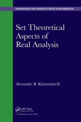 Set Theoretical Aspects of Real Analysis: 1st Edition (Hardback) book cover