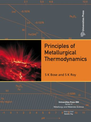 Principles of Metallurgical Thermodynamics: 1st Edition (Hardback) book cover