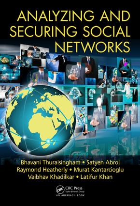 Analyzing and Securing Social Networks: 1st Edition (Hardback) book cover