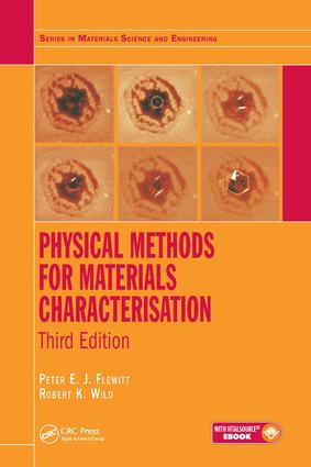 Physical Methods for Materials Characterisation: 3rd Edition (e-Book) book cover