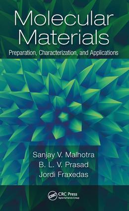 Molecular Materials: Preparation, Characterization, and Applications, 1st Edition (Hardback) book cover