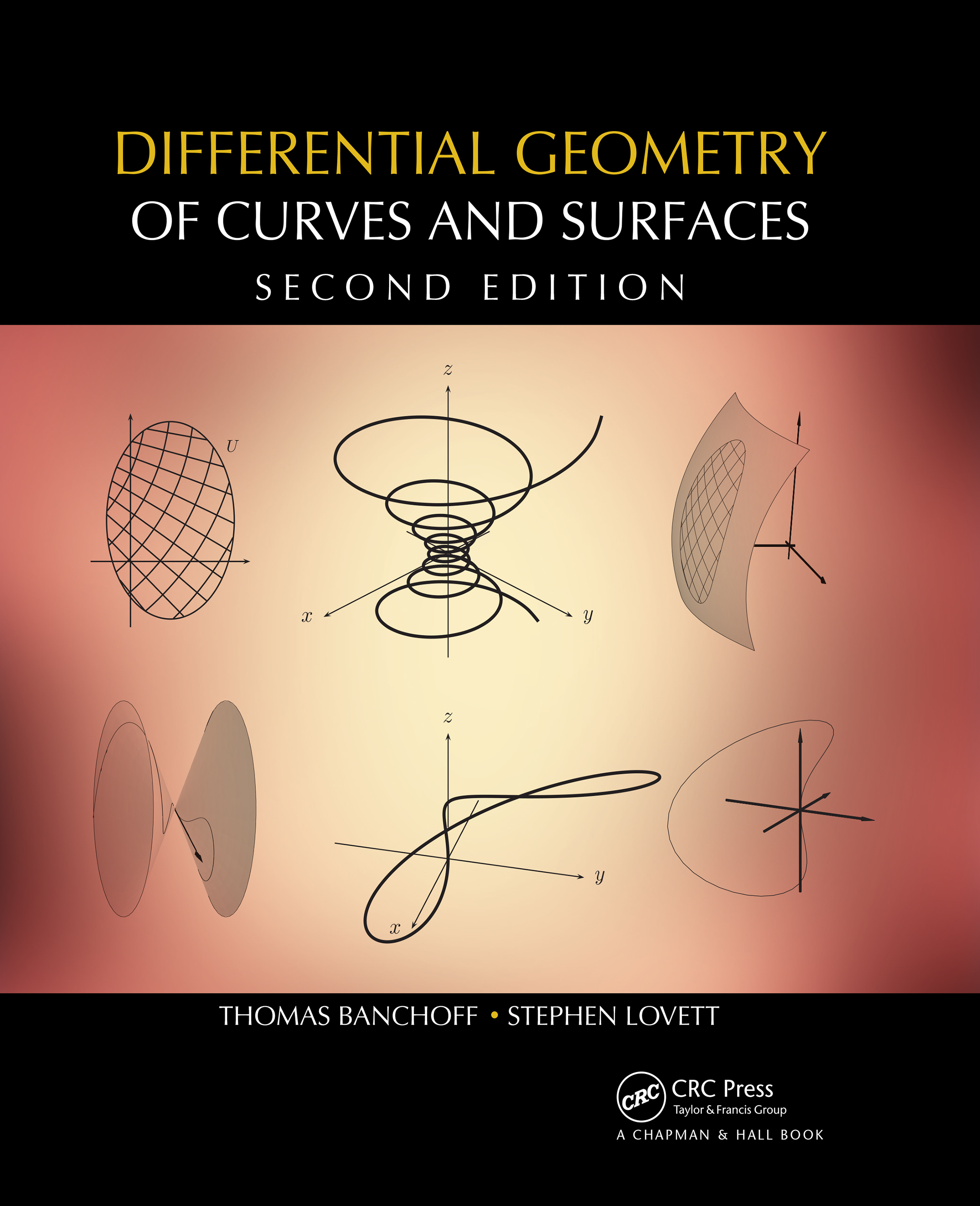 Differential Geometry of Curves and Surfaces: 2nd Edition (Hardback) book cover