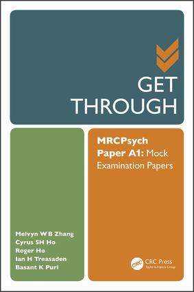 Get Through MRCPsych Paper A1