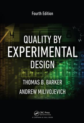 Quality by Experimental Design: 4th Edition (Hardback) book cover
