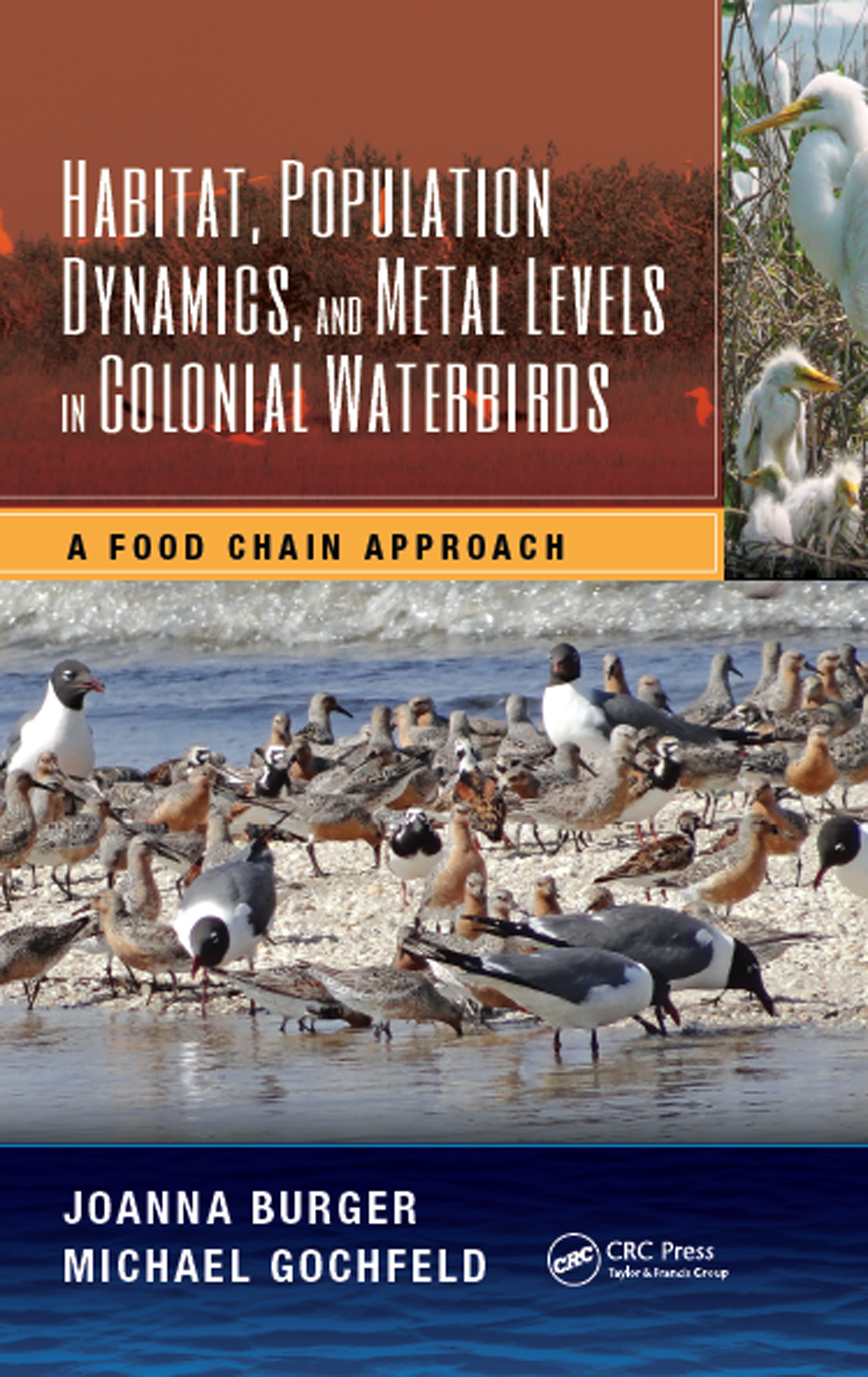 Habitat, Population Dynamics, and Metal Levels in Colonial Waterbirds: A Food Chain Approach book cover