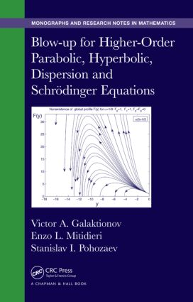 Blow-up for Higher-Order Parabolic, Hyperbolic, Dispersion and Schrodinger Equations: 1st Edition (Hardback) book cover