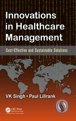 Innovations in Healthcare Management: Cost-Effective and Sustainable Solutions, 1st Edition (Hardback) book cover