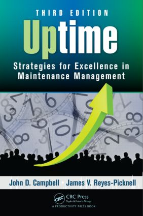 Uptime: Strategies for Excellence in Maintenance Management, Third Edition, 3rd Edition (Hardback) book cover