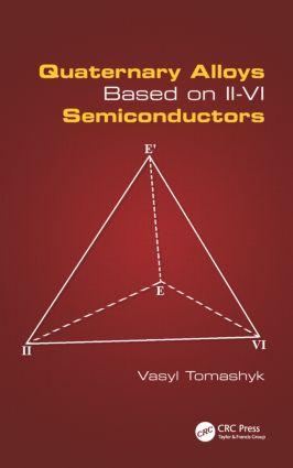 Quaternary Alloys Based on II - VI Semiconductors: 1st Edition (Hardback) book cover