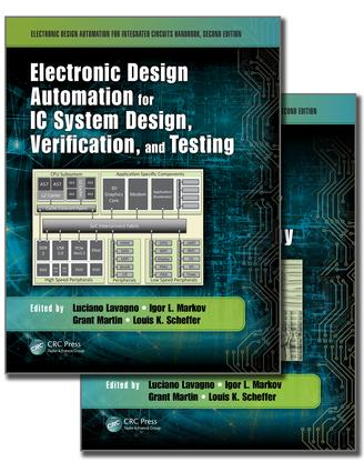 Electronic Design Automation for Integrated Circuits Handbook, Second Edition - Two Volume Set: 2nd Edition (Hardback) book cover