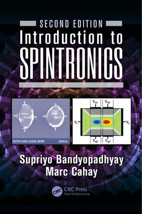 Introduction to Spintronics: 2nd Edition (Hardback) book cover