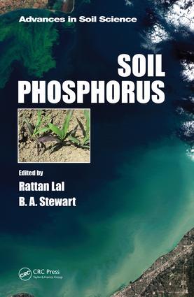 Soil Phosphorus (Hardback) book cover