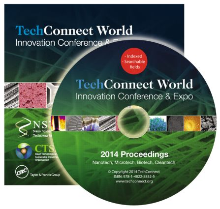TechConnect World 2014 Proceedings: Nanotech, Microtech, Biotech, Cleantech Proceedings DVD Vol 1-4, 1st Edition (DVD) book cover