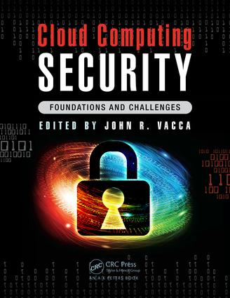 Cloud Computing Security: Foundations and Challenges, 1st Edition (Hardback) book cover