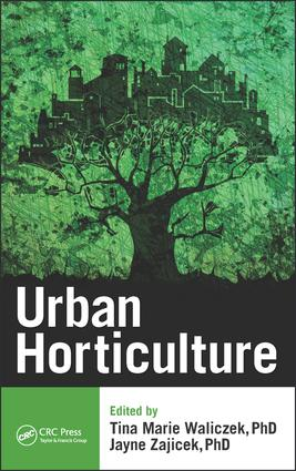 Urban Horticulture: 1st Edition (Hardback) book cover