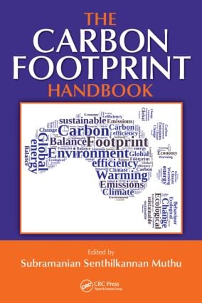 The Carbon Footprint Handbook: 1st Edition (Hardback) book cover