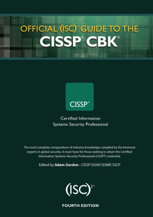 Official (ISC)2 Guide to the CISSP CBK: 4th Edition (Hardback) book cover