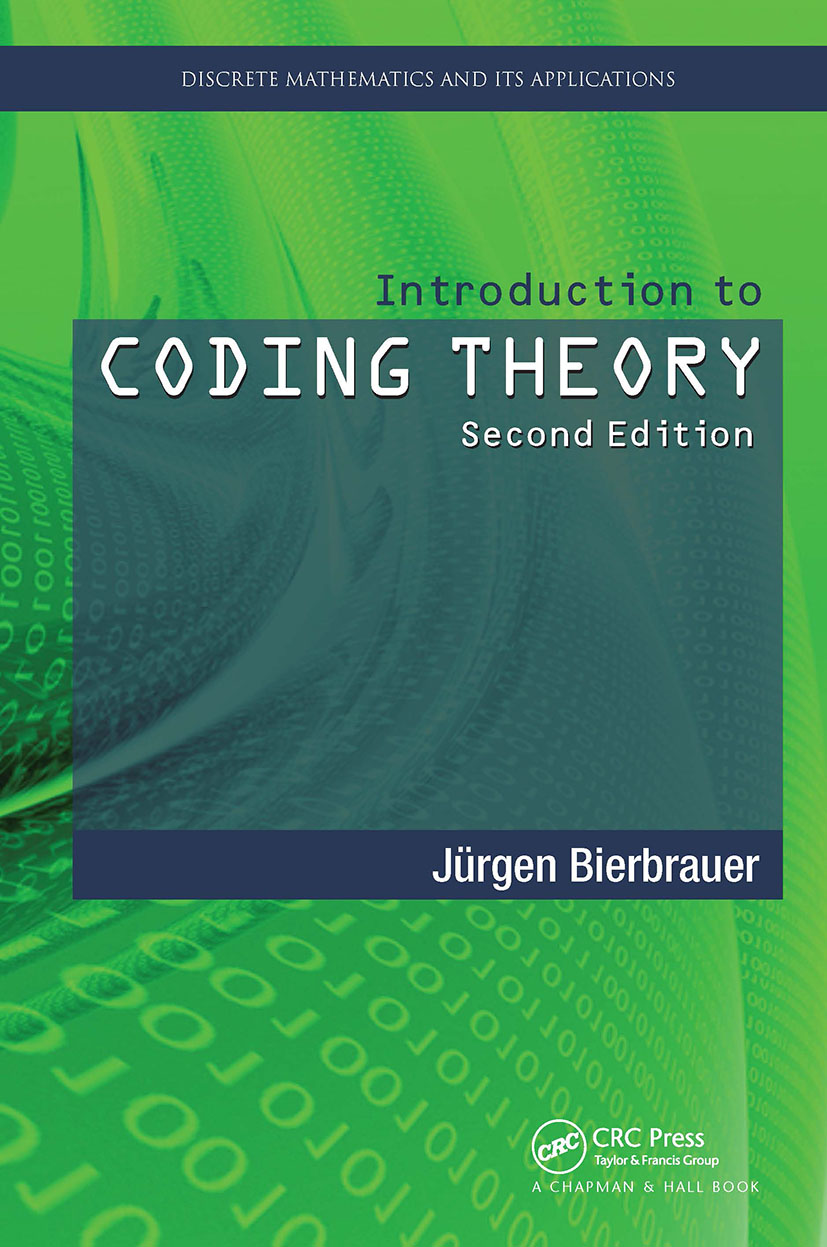 Introduction to Coding Theory: 2nd Edition (Hardback) book cover