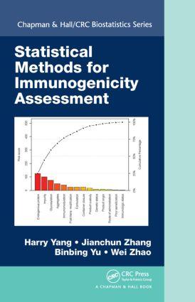 Statistical Methods for Immunogenicity Assessment: 1st Edition (Hardback) book cover
