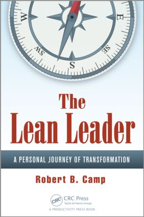 The Lean Leader: A Personal Journey of Transformation, 1st Edition (Paperback) book cover