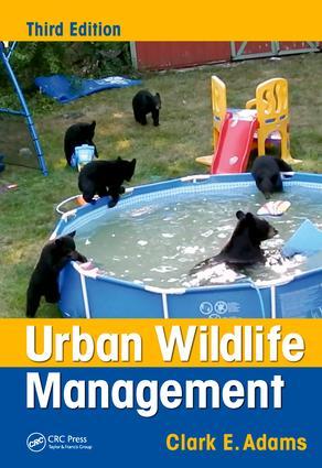 Urban Wildlife Management: 3rd Edition (Hardback) book cover