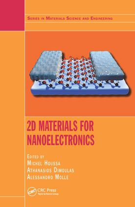 2D Materials for Nanoelectronics book cover