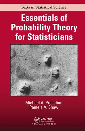 Essentials of Probability Theory for Statisticians: 1st Edition (Hardback) book cover