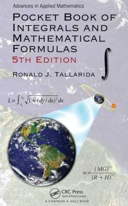 Pocket Book of Integrals and Mathematical Formulas: 5th Edition (Paperback) book cover