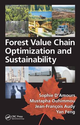 Forest Value Chain Optimization and Sustainability: 1st Edition (Hardback) book cover