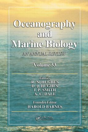 Oceanography and Marine Biology: An Annual Review, Volume 53 book cover
