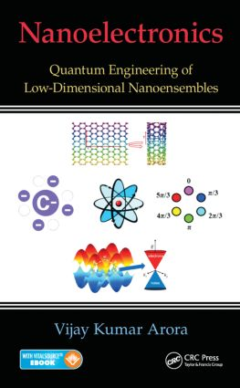 Nanoelectronics: Quantum Engineering of Low-Dimensional Nanoensembles, 1st Edition (Pack - Book and Ebook) book cover